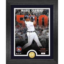 Miguel Cabrera 500th Career HR Commemorative Bronze Coin Photo Mint
