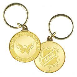 Washington Capitals Bronze Coin Keychain