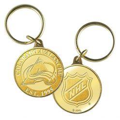Colorado Avalanche Bronze Team Keychain