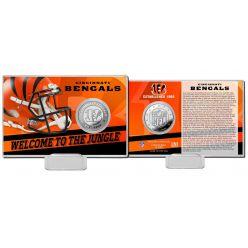 Cincinnati Bengals 2020 Team History Coin Card
