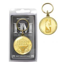 Chicago Bulls Coin Keychain