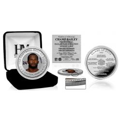 Champ Bailey Hall of Fame 2019 Silver Mint Coin