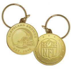 Cleveland Browns Bronze Keychain