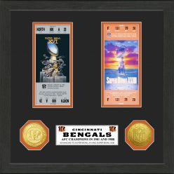 Cincinnati Bengals SB Championship Ticket Collection