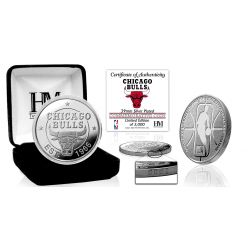 Chicago Bulls Silver Mint Coin