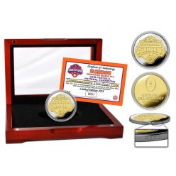 Clemson Tigers 2018 Football National Champions Two-Tone Mint Coin