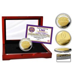 Louisiana State University 2019 Football National Champions Two-Tone Mint Coin