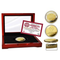 Alabama Crimson Tide 2020/21 Football National Champions Two-Tone Mint Coin