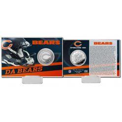 Chicago Bears 2020 Team History Coin Card