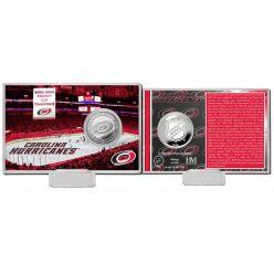 Carolina Hurricanes History Silver Coin Card
