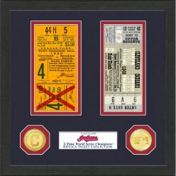Cleveland Indians World Series Ticket Collection