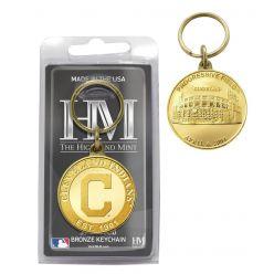 Cleveland Indians Bronze Team Keychain
