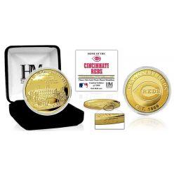 "Cincinnati Reds ""Stadium"" Gold Mint Coin"