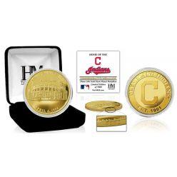 "Cleveland Indians ""Stadium"" Gold Mint Coin"