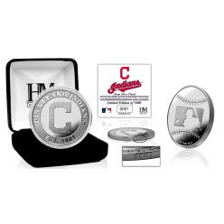 Cleveland Indians Silver Coin