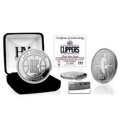 LA Clippers Silver Mint Coin