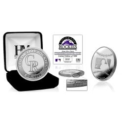 Colorado Rockies Silver Coin