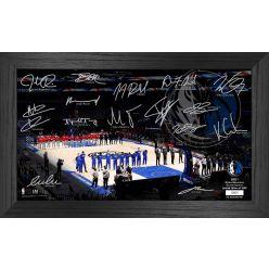 Dallas Mavericks 2021 Signature Court