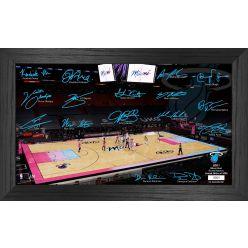 Miami Heat 2021 Signature Court
