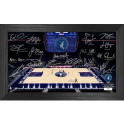 Minnesota Timberwolves 2021 Signature Court