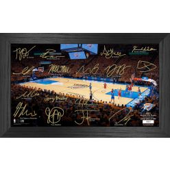 Oklahoma City Thunder 2021 Signature Court