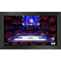 Philadelphia 76ers 2021 Signature Court