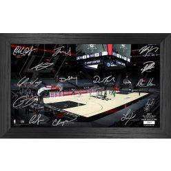San Antonio Spurs 2021 Signature Court