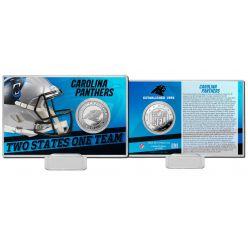 Carolina Panthers 2020 Team History Coin Card