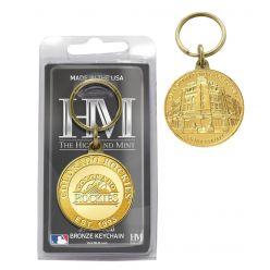 Colorado Rockies Bronze Team Keychain