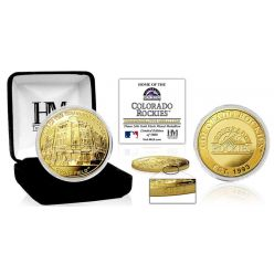 "Colorado Rockies ""Stadium"" Gold Mint Coin"