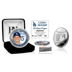 Corey Seager Silver Mint Coin