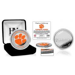 Clemson University Color Silver Coin