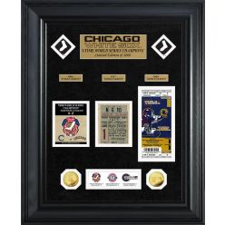 Chicago White Sox World Series Deluxe Gold Coin & Ticket Collection