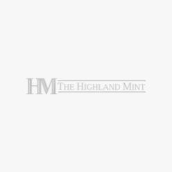 Denver Broncos Silver Ornament