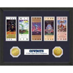 Dallas Cowboys SB Championship Ticket Collection