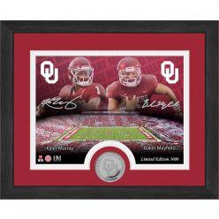 Oklahoma Sooners Kyler Murray Baker Mayfield Desktop Photo Mint