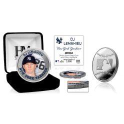 Dj LeMahieu Silver Mint Coin