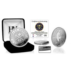 Denver Nuggets Silver Mint Coin