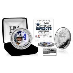 Dak Prescott Silver Color Coin