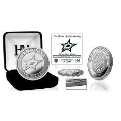 Dallas Stars Silver Mint Coin