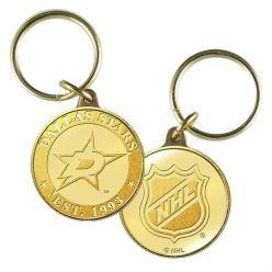 Dallas Stars Bronze Team Keychain