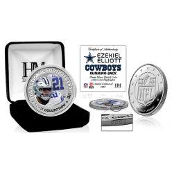Ezekiel Elliot Silver Color Coin