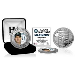 Edgar Martinez Hall of Fame 2019 Silver Mint Coin