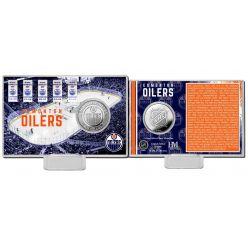 Edmonton Oilers Silver Coin Card