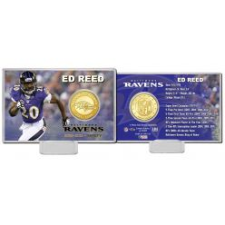 Ed Reed Bronze Coin Card