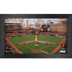 Baltimore Orioles 2021 Signature Field Photo Frame
