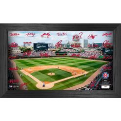 Chicago Cubs 2021 Signature Field Photo Frame