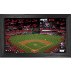 Washington Nationals 2021 Signature Field Photo Frame