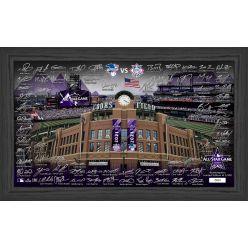 2021 MLB All Stars Signature Field