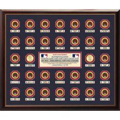 Major League Baseball Stadium Infield Dirt Coin Collection